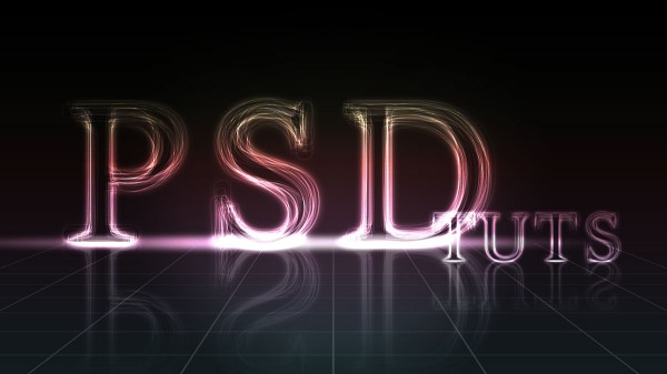 create a layered glowing text effect 600x337