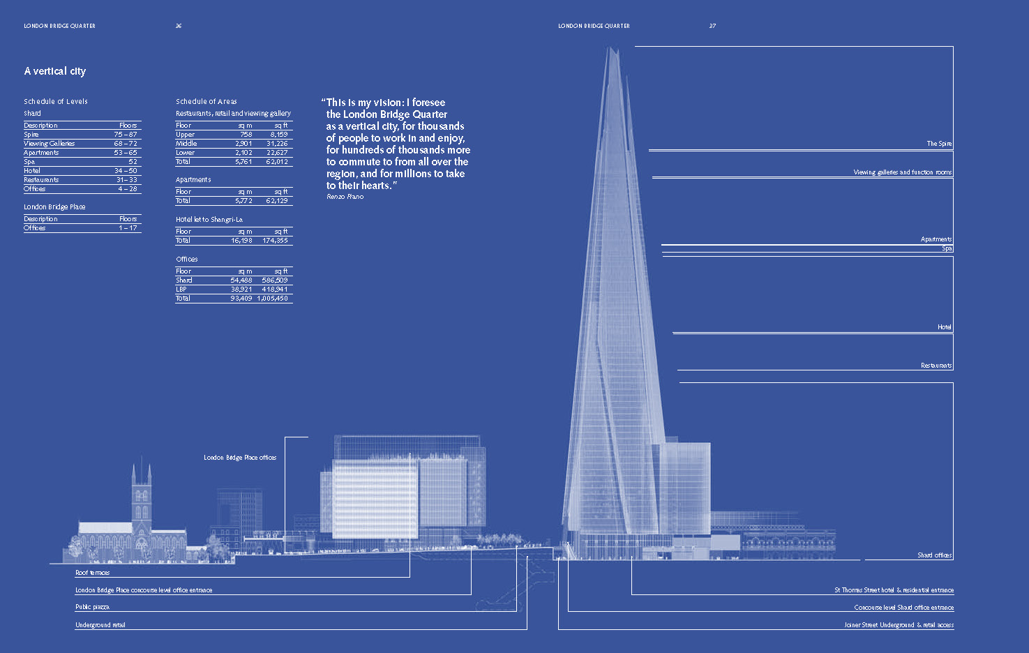 Housing Floor Plans Uniform The Shard London Bridge Cgi Simoncpage Com