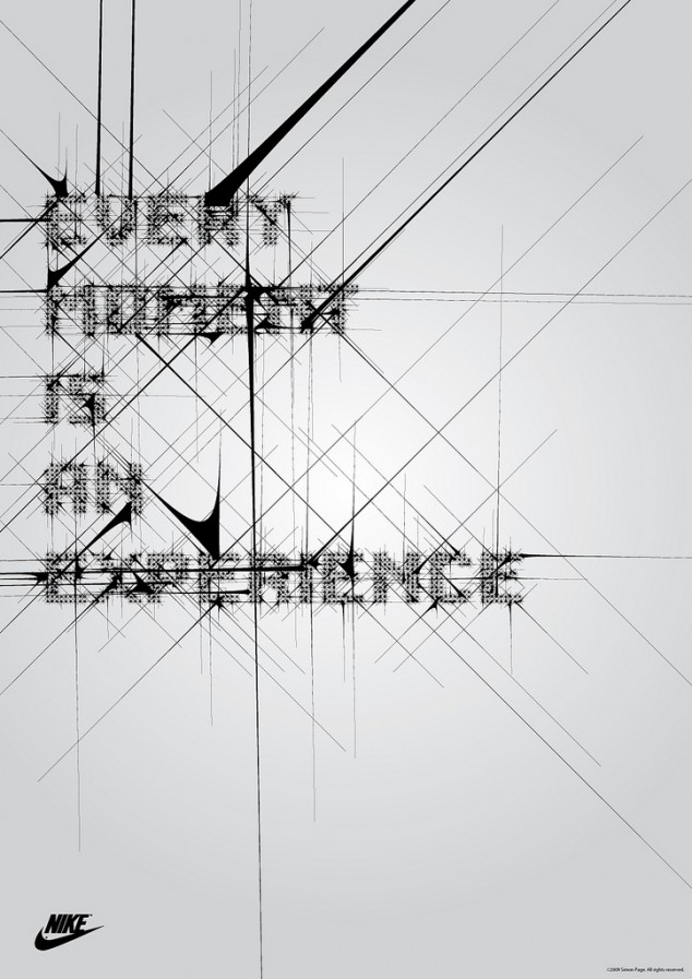 nike typography poster 2 634x897