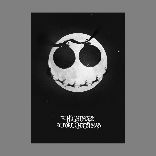 nightmare before christmas card 0 634x634